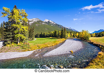 Delightful Rocky Mountains of Canada - Delightful park Banff...