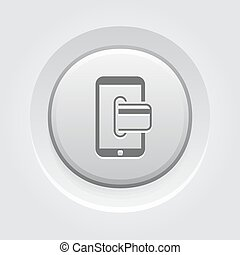 Mobile Banking Icon. Business Concept