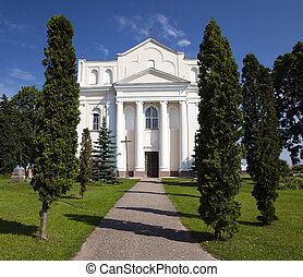 Catholic Church, belarus - Catholic Church built in...
