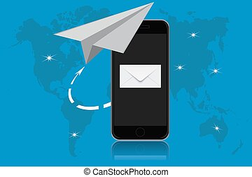 email, communication, vector