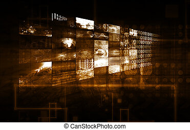 Business Data and Multimedia Technology as Concept
