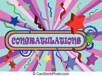 congratulation tex colorfull - congratulation tex on...