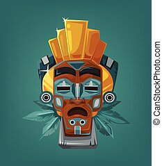 Ethnic tribal mask