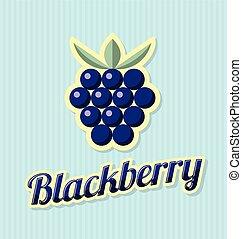 Retro blackberry