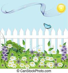 garden - Lush garden in spring