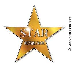 étoile, salle, assaisonnement
