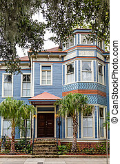 Blue Victorian in Savannah