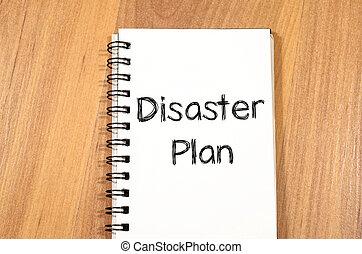 正文, 概念, 災禍, 計劃