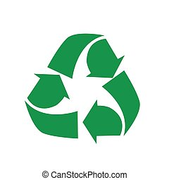 recycling symbol - Vector illustration of recycling symbol...