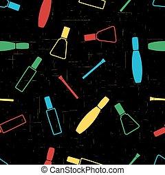 Pattern nail polish