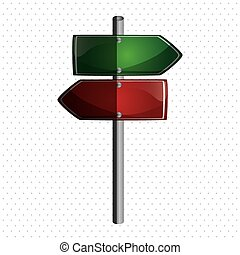 Road sign design , vector illustration