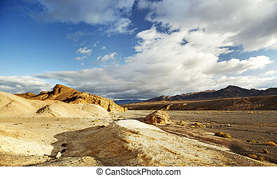 desert scenery in Death Valley, southern California