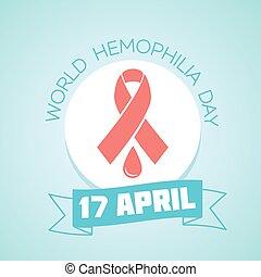 17 April World Hemophilia Day - Calendar for each day on...