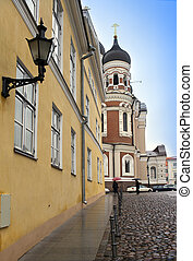 Alexander Nevsky Cathedral Old city, Tallinn, Estonia