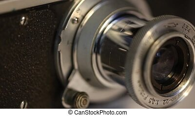 Lens and Viewfinder Film photocamera - Lens and viewfinder...