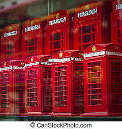 London Souvenir Phoneboxes - London, England Tourism...