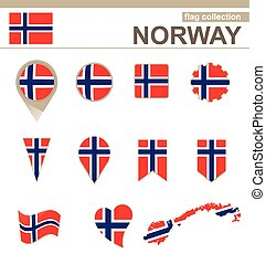 Norway Flag Collection