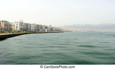 """general city view, daliy life, izmir, turkey"""