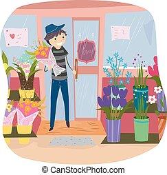 Stickman Purchase Flower Shop