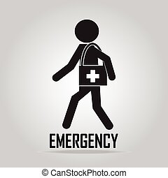 Emergency medical services concept