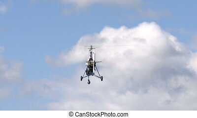 Flight vehicle aerial shot - Piloted flight vehicle aerial...