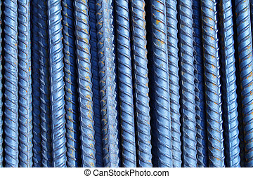 Group of ribbed reinforcement bars