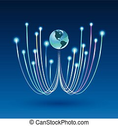 fiber optic connection