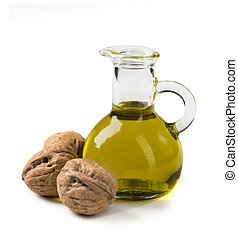 Walnut oil and nuts