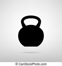 Fitness Dumbbell sign