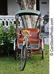 tricycle in Thailand - classic tricycle in Thailand