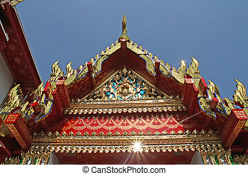 Wat Pho - Thailand - The temple, wat pho, in bangkok,...