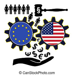 Fears over TTIP - People fear to get exploited by the...