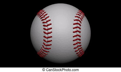 Looping Baseball Ball Animation 1