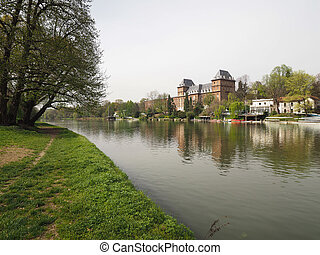 River Po in Turin - Fiume Po meaning River Po in Turin,...