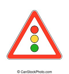Traffic-Road Sign - Illustration of Triangle Sign for...