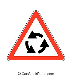 Traffic-Road Sign - Illustration of Triangle Traffic Sign...