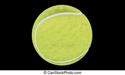 Looping Tennis Ball Animation 1 - Seamless loop Tennis Ball...
