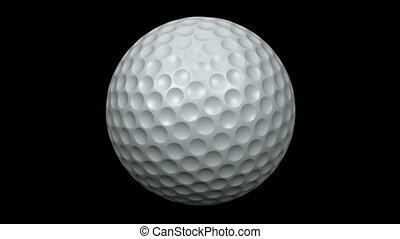 Looping Golf Ball Animation 1 - Seamless loop Golf Ball...