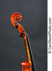 Head of a violin