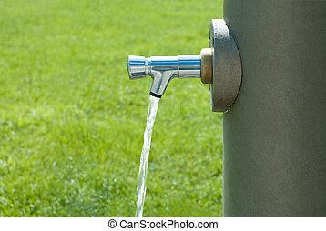 public, boire, fontaine