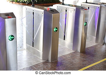 automatic gate of subway