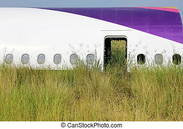 Airplane graveyard in Thailand - Airplane land on graveyard...