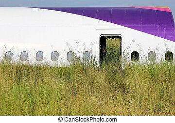 Airplane graveyard in Thailand - Airplane land on graveyard...