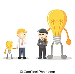 Idea negotiation illustration