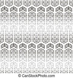 Seamless pattern with simple flowers of circles - Abstract...