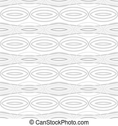 Abstract seamless geometric pattern with elliptical elements...