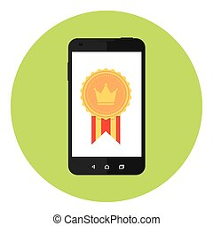 Mobile Award Medal