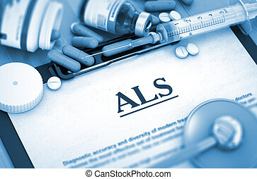 ALS Diagnosis Medical Concept Composition of Medicaments -...