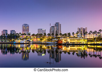 Long Beach California - Long Beach, California, USA skyline.