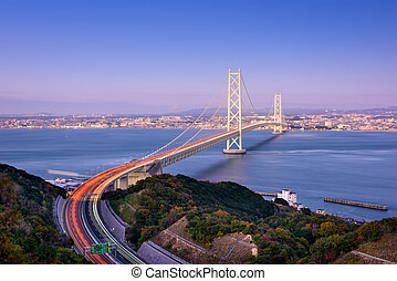 Akashi Bridge in Japan
